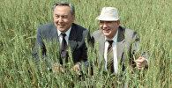 М.С. Горбачев пен  Н.А. Назарбаев
