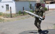 Подразделения Минобороны ликвидируют  боеприпасы, архивное фото
