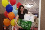 Нургуль Аубакирова, победитель конкурса Жасампаз елдің жастары (Молодежь созидательной страны)
