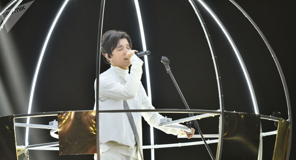 Димаш с концертом в Нур-Султане