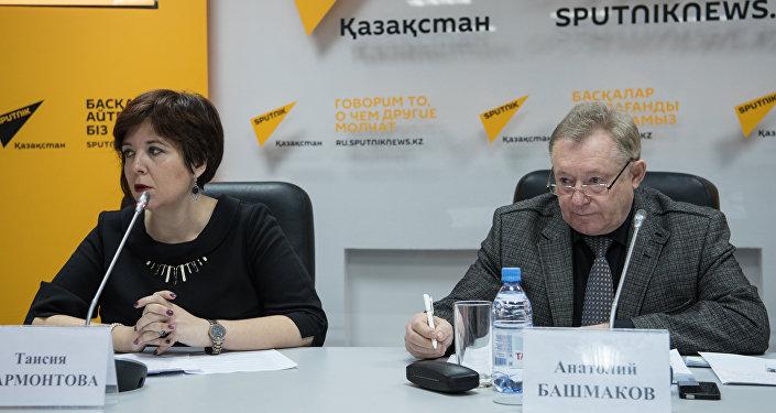 Таисия Мармонтова, Анатолий Башмаков