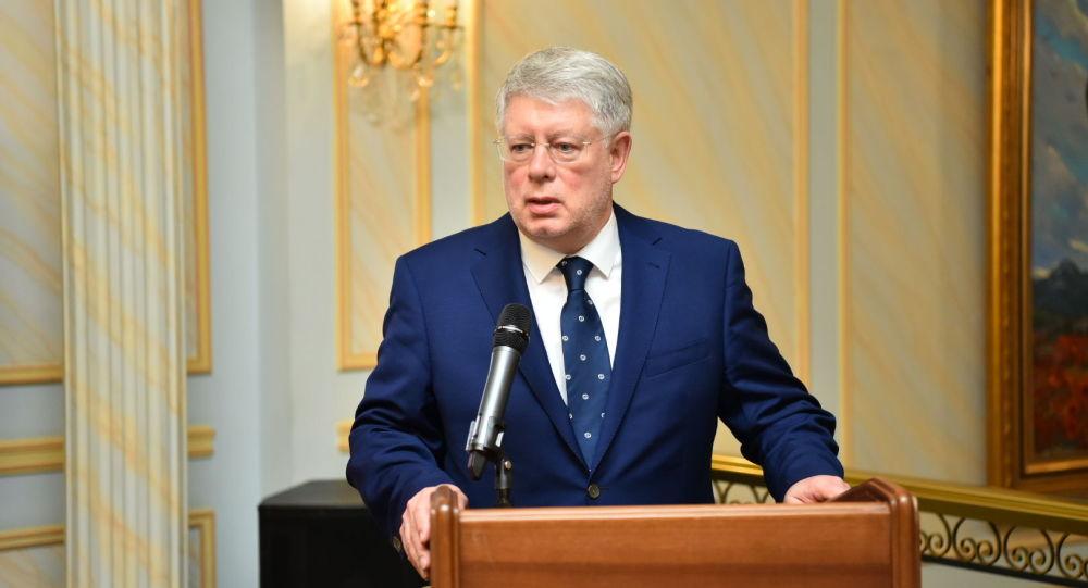 Чрезвычайный и Полномочный Посол Российской Федерации в Республике Казахстан Алексей Бородавкин
