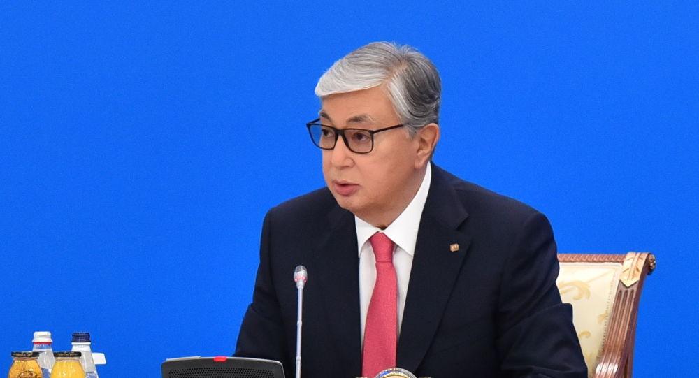 Президент Казахстана Касым-Жомарт Токаев на 32-ом пленарном заседании совета иностранных инвесторов (СИИ)