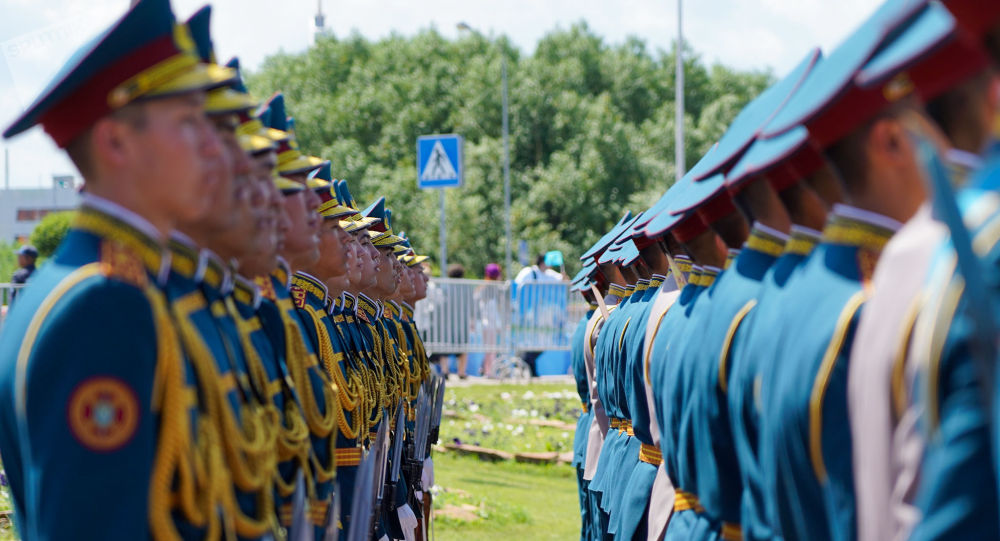 Военные курсанты