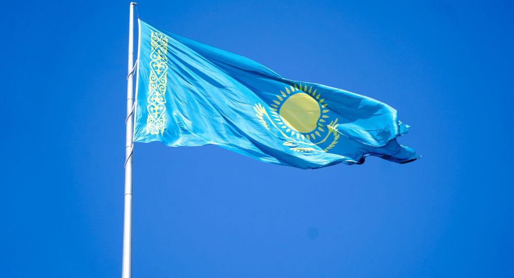 Государственный флаг Республики Казахстан