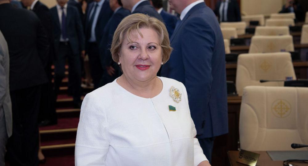 Депутат Ирина Аронова