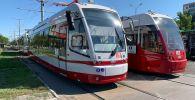 Новые трамваи в Павлодаре