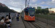 Трамвай в Павлодаре