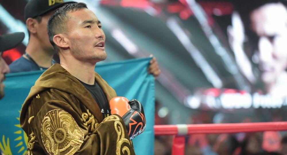 Казахстанский боксер-профессионал Канат Ислам, архивное фото