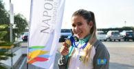 Участница сборной Казахстана Сарсенкуль Рысбекова завоевала бронзовую награду в стендовой стрельбе на Универсиаде