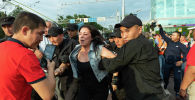 Митинг в Алматы 6 июля