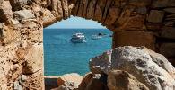 Венецианская крепость Спиналонга XVI века, остров Крит
