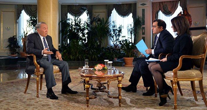 Нұрсұлтан Назарбаевтың Bloomberg News агенттігіне берген сұхбаты
