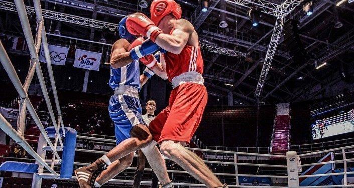 Санкт-Петербургте өтіп жатқан бокстан жастар арасындағы әлем чемпионаты