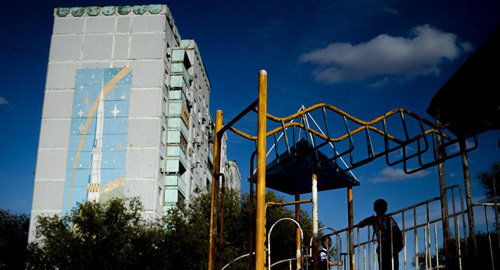 Виды города Байконур