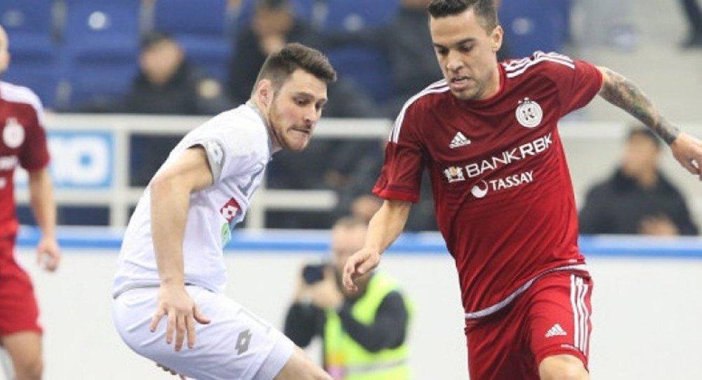 «Кайрат» победил латвийский «Никарс» ивышел в«Финал четырех»
