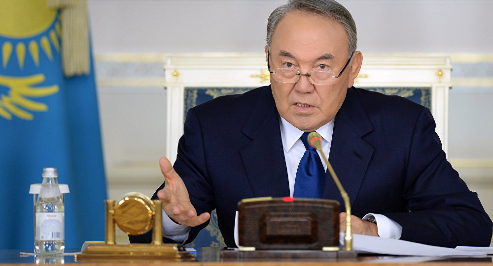 Нұрсұлтан Назарбаев