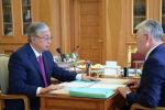 Мемлекет басшысы Қасым-Жомарт Тоқаев сыртқы істер министрі Бейбіт Атамқұловты қабылдады