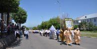 Большой крестный ход в честь дня рождения Петропавловска