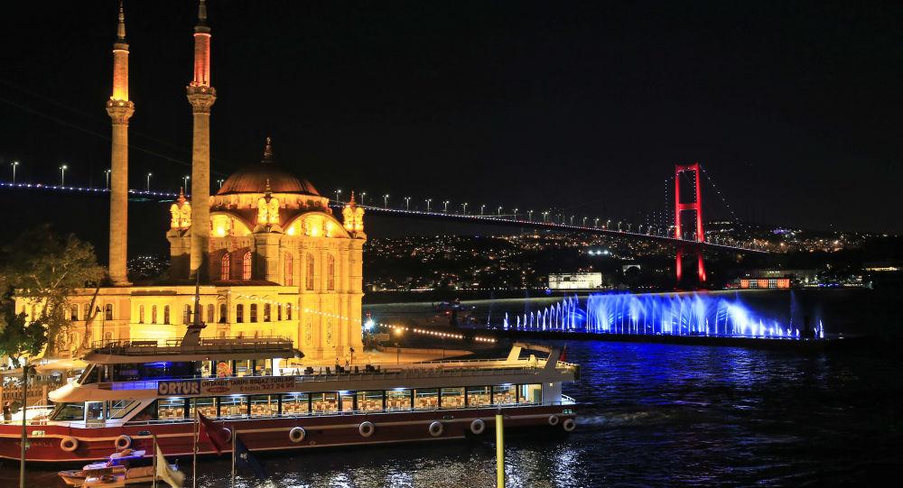 Виды Стамбула (Турция), архивное фото