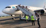 Вылет самолета Эйр Астаны из Алматы в Нур-Султан задержан по технической причине