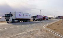 Премьер-Министр РК Аскар Мамин принял участие вместе в открытии автомобильной дороги Бейнеу – Акжигит – граница Узбекистана
