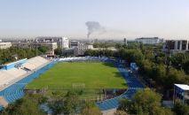 Склады горят в Жетысуском районе