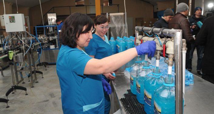 Фабрика по производству бытовой химии