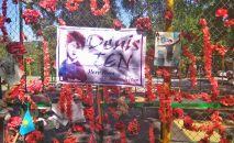В Алматы почтили память Дениса Тена