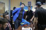 Суд по делу журналиста Кирилла Вышинского в Киеве
