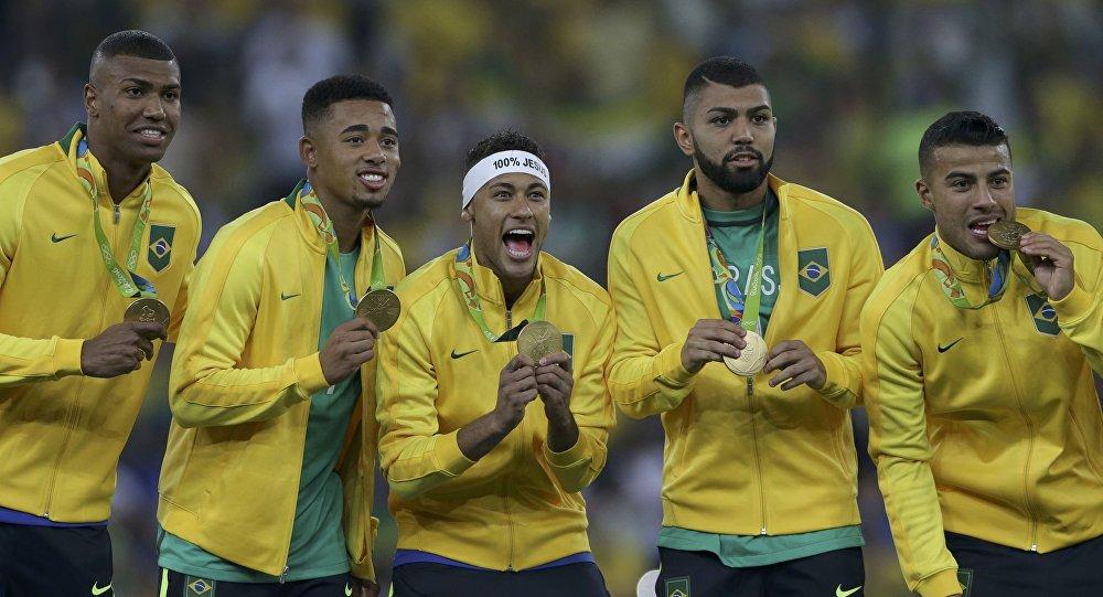 Бразильские футболисты выиграли Олимпиаду в Рио