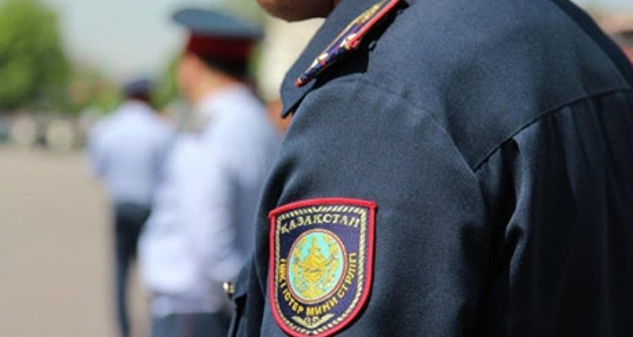 Полиция Казахстана. Архивное фото