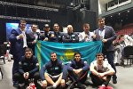 Архивное фото бойцов MMA на Чемпионате мира