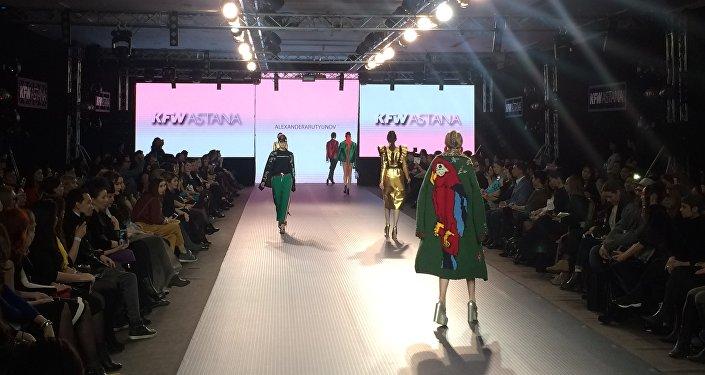 Показ в рамках Казахстанской недели моды