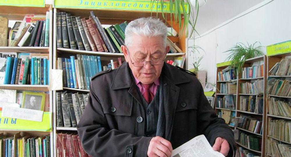 Писатель, составитель кроссвордов и краевед Калибек Алтыбаев