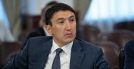 Министр экологии, геологии и природных ресурсов Магзум Мирзагалиев