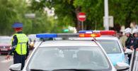 Полиция көлігі, архивтегі сурет