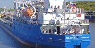 Российский танкер Nika Spirit (NEYMA), задержанный в Измаиле
