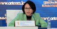 Вице-министр информации и общественного развития Нургуль Мауберлинова