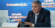 Зампредседателя комитета по информационной безопасности министерства оборонной и аэрокосмической промышленности Руслан Абдикаликов