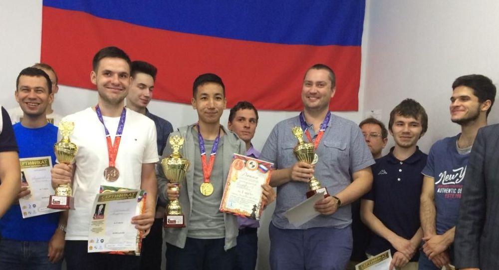 Шахматист из Казахстана Арыстан Исанжулов