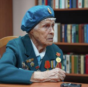 Соғыс ардагері Раиса Сафоничева