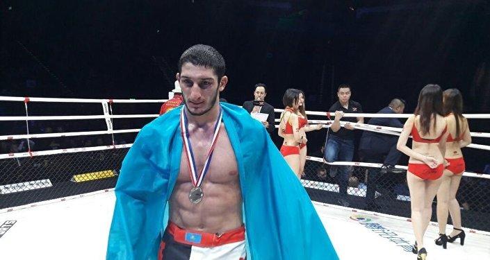 Казахстанский боец MMA на ЧМ мира в Макао