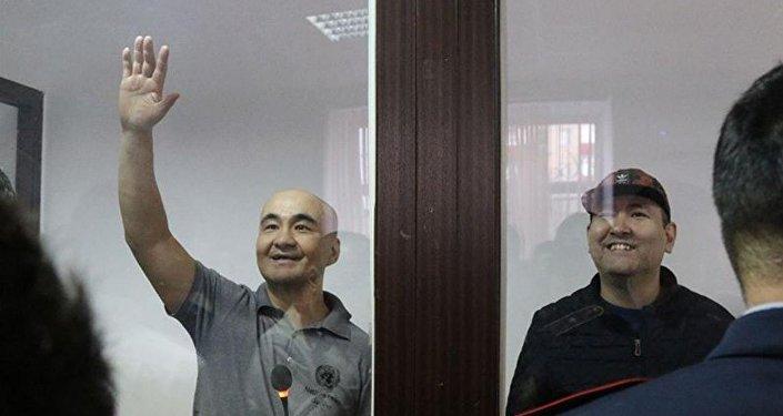 Макс Бокаев и Талгат Аянов в суде