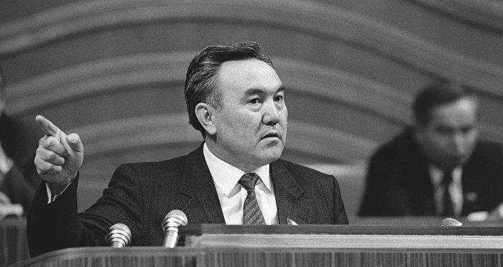 Президент Казахстана Нурсултан Абишевич Назарбаев