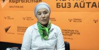 Юрист Коалиции против пыток в Кыргызстане Индира Саутова