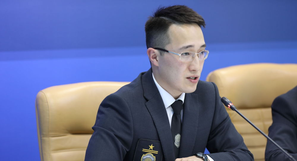 Старший следователь следственного департамента аентства по противодействию коррупции Данияр Бигайдаров