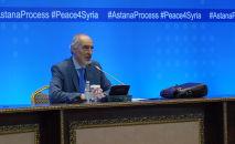 Глава делегации правительства Сирии Башар Джафари, архивное фото