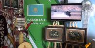 Кольчугу и доспехи казахского воина привезли участники Танкового биатлона