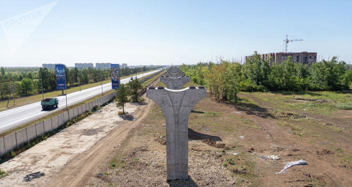 Перед началом строительства были проведены инженерно-изыскательские, а также проектные работы
